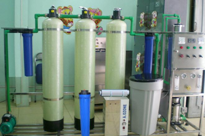 125 Dây chuyền lọc nước tinh khiết RO 125 Lít/giờ
